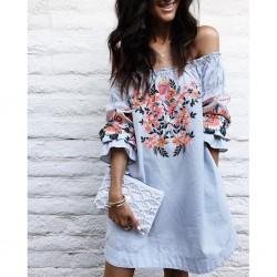 Туника-рокля Flowers
