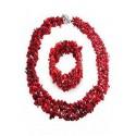 Комплект червен Корал