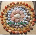 Мандала от естествени камъни