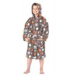 Детски халат за баня Футболист