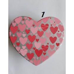 Кутии Сърце за бижута или друго / големи