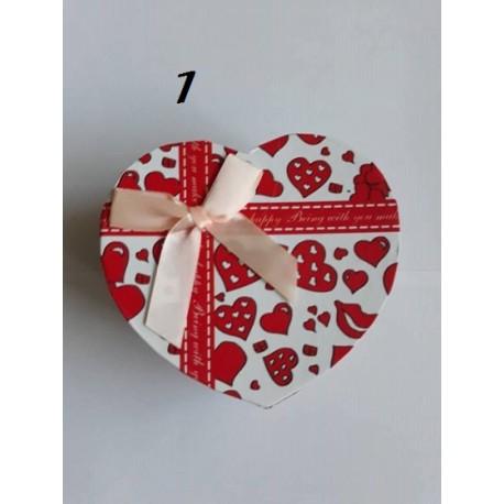 Кутии Сърце за бижута или друго / малки
