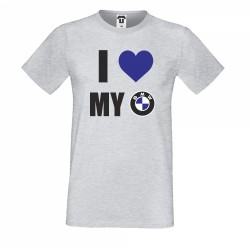Тениска I Love My BMW