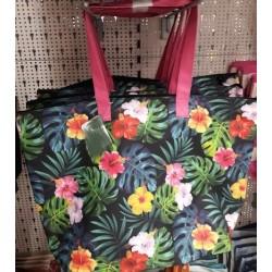 Лятна / Плажна чанта на цветя