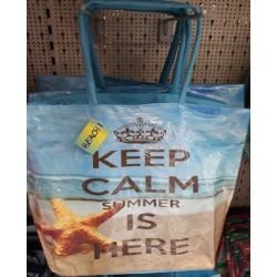 Лятна / Плажна чанта Keep Calm...