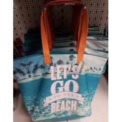 Лятна / Плажна чанта Let`s  Go.....