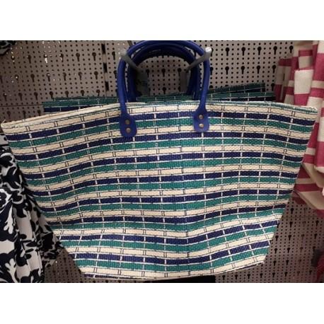 Лятна / Плажна чанта тип кошница
