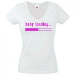 """Тениска """"Baby Loading"""""""