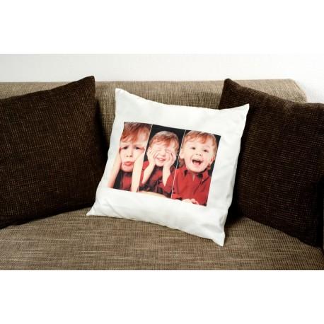 Възглавница със снимка на клиента /тройна