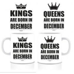 Комплект тениски и чаши King Queen