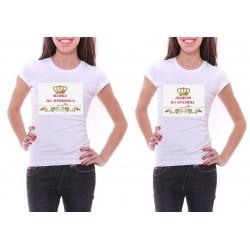 Комплект тениски майка и дъщеря