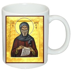 """Чаша с икона """"Свети Антоний"""""""
