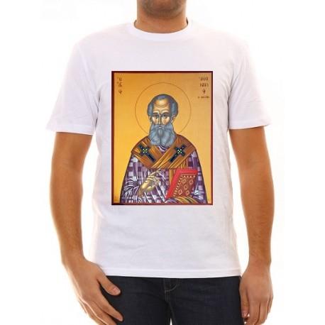"""Тениска с икона """"Свети Атанасий"""""""