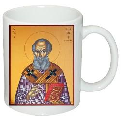 """Чаша с икона """"Свети Атанасий"""""""