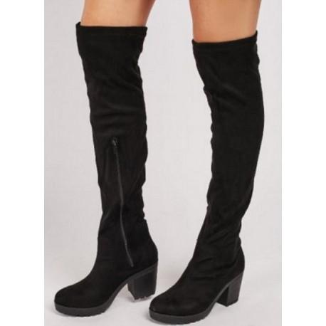 Високи чизми/ботуши над коляното