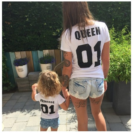 Комплект тениски Queen / Princess